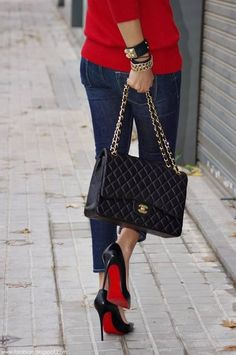These are a few of my favorite things!! Chanel and Louboutin!!