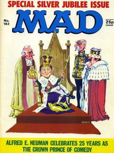Mad Magazine – The Magic Robot Mad Magazine, Magazine Covers, Magazines, Boy Or Girl, Princess Zelda, Humor, Funny, Fictional Characters, Collection