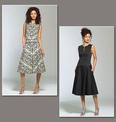 A donna karan pattern... love it.. esp. the fabric's pattern!!