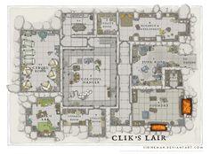 Wizards Academy - Clik's Lair by SirInkman on DeviantArt
