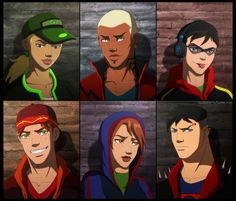 Characters belong to DC Comics YJ - Street Rats Young Justice Season 3, Young Justice League, Marvel Avengers Assemble, Marvel Dc Comics, Power Rangers Comic, Robin, Wally West, Cartoon Tv Shows, Marvel Characters