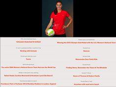 #TeamHeadTrainer Athlete Alex Morgan Fun Facts