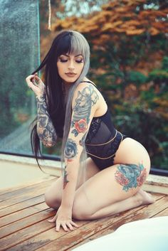 Beautiful Tattooed Girls & Women Daily Pictures. For your Inspiration... #girlswithtattoos #inkedbabes #inkedgirl #tattooedmodel #tattoogirl #tattoo