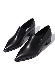 Tendance Chaussures Acne Womens Jaycee Lamb Leather Loafer Shoes Tendance & idée Chaussures Femme 2016/2017 Description Minimal Chic | CO DE / F_ORM