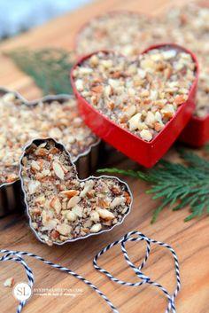 Easy Chocolate Peanut Butter Pretzel Bark #Recipe - made in cookie cutters