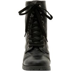 Hot Topic Black Floral Lined Combat Boots (€27) ❤ liked on Polyvore featuring shoes, boots, combat boots, black combat boots, black boots, black shoes and hot topic shoes