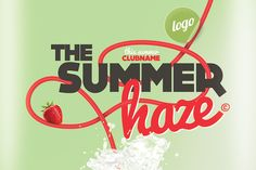 Check out Summer Haze Cocktail Party by Just Me on Creative Market