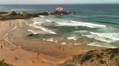 """7 Maravilhas Praias de Portugal""""! Esta é a vencedora na categoria: Praias urbanas. ZAMBUJEIRA DO MAR."""