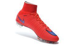 buy popular 55470 43740 Preschool Nike Mercurial Superfly FG Red Blue  107.99. Buy Football Boots