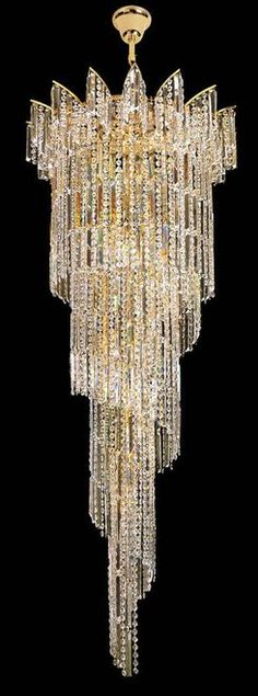 Disover unique opulent chandeliers inspirations for your luxury interior. Check more at luxxu.net