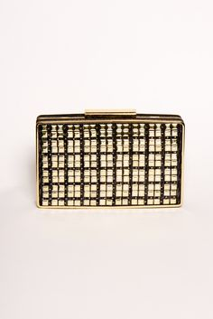 All Squared Up Clutch in Black