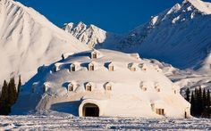 Alaska: Igloo City: This tourist attraction—located in Cantwell, Alaska—is especially odd because it never actually opened for business.