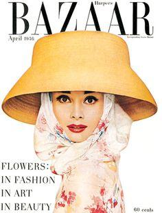 Audrey Hepburn - Harper's Bazaar, 1956. Photo by Richard Avedon