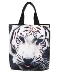 Bolsa Sacola Tigre Branco