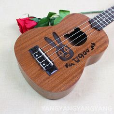 Soprano Concert Ukulele 21 23 Inch Hawaiian Guitar 4 Strings Ukelele Guitarra Handcraft Wood rebbit Cartoon Sapele Musical Uke