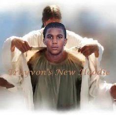 Trayvon's new hoodie