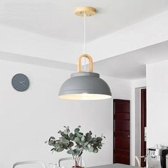 Bring modern nordic design and warm, welcoming light to any space with the Buford pendant lamp! Made from sturdy iron and eco-friendly wood. Free Worldwide Shipping & Money-Back Guarantee Led Pendant Lights, Glass Pendant Light, Pendant Lamp, Shelf Lamp, Fender Vintage, Nordic Lights, Wall Mounted Lamps, Hanging Pendants, Hanging Lights