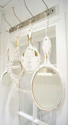 Love this.old mirrors