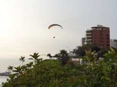 Views from the coast of the Miraflores District in Lima, Peru. It's so lovely there! - Click the pic to read about my time in the area!