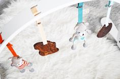 Wooden Organic Baby Play Gym - Finn   Emma