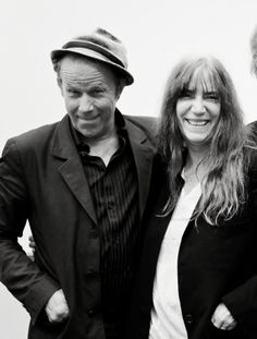 Everything is right in the world just look:Tom Waits & Patti Smith @shropshire_blue