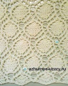 Схема узора: http://azhurnye-uzory.ru/azhurny-e-uzory-spitsami/yaponskie-uzory/uzor-spitsami-azhurny-e-kol-tsa