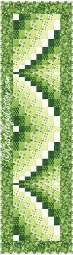 Bargello Ribbons Quilt Pattern