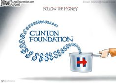Follow the Clinton Foundation's foreign donor money right to Hillary's pay to play scheme and presidential campaign....  #NeverHillary