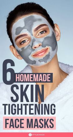 6 Homemade Skin Tightening Face Masks You Should Definitely Try: Skin tightening masks can be an effective solution to these skin problems. In this article, we will share a few tips and tricks to make skin tightening masks using natural ingredients. Tightening Face Mask, Natural Skin Tightening, Skin Firming, Beauty Tips For Glowing Skin, Beauty Skin, Beauty Care, Beauty Hacks, Beauty Ideas, Beauty 101