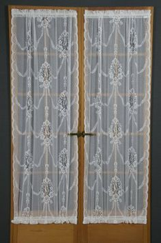 D. Kwitman and Son American Balmore Door Panel, 40-Inch, White by D. Kwitman and Son. $29.18. Available in white and ivory. Measures 36-inch by 40-inch. 70-percent cotton/30-percent polyester. Includes one door panel. Construction: Rod Pocket. D. Kwitman and Sons specializes in curtain panesl, door panels and high quality bedskirts. Expect great quality with every product.. Save 17%!