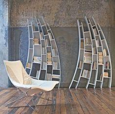 Estantes legais para livros | Fottus