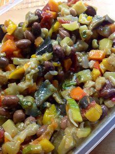 """Colla&Cannella: """"Couscous con verdure e sgombro all'olio d'oliva"""""""