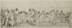 Robert Jefferson Bingham | Fotoreproductie van schilderij door Paul Delaroche: cartons de l'hemicycle du Palais des Beaux-Arts, Robert Jefferson Bingham, Goupil & Cie, 1858 |