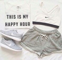 nike, fitness, and outfit image