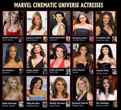 The Women of Marvel. - At first I was upset they didn't include Jemma, then realized they only had Skye because she's Quake. Then I got upset again because May is on there, and even though she's 'just an agent'. C'mon, there's more girls, add them so Jemma  can be there!