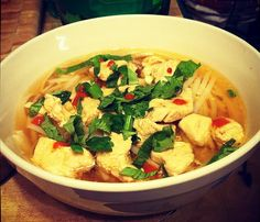 Healthy Way To Cook Recipe: Vietnamese Chicken Soup