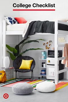 Heres your five-step plan for tackling your college shopping list in style and Visit on budget. Heres your five-step plan for tackling your college shopping list in style and Visit on budget. Cute Room Ideas, Cute Room Decor, Ideas Cabaña, Dorm Ideas, Dorm Room Designs, Room Essentials, College Dorm Rooms, Dream Rooms, Cool Rooms