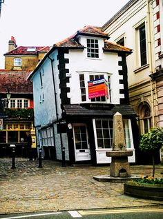 The Crooked House of Windsor  Windsor, England