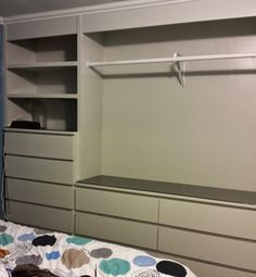 IKEA Hack: Built-In Wardrobe Using Malm Dressers