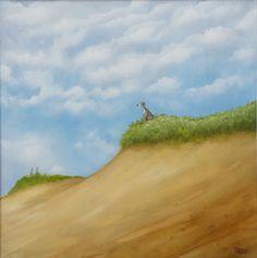 'Loving the View' by Petar Novakovic www.petarart.co.uk Country Roads, Mountains, Artist, Nature, Travel, Painting, Naturaleza, Viajes, Painting Art