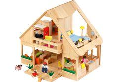 Voila Wooden Dollhouse