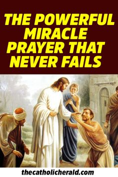 The Powerful Miracle Prayer Given by Jesus to all Catholics and it Never Fails – Pray it Now Lent Prayers, Novena Prayers, Special Prayers, Prayers For Healing, Bible Prayers, Catholic Prayers, Morning Prayers, Healing Prayer, Powerful Prayers
