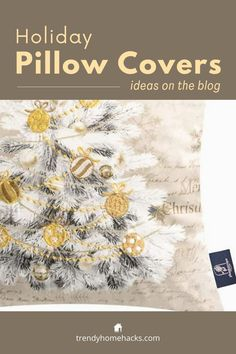 A beautiful holiday-themed set of four pillowcases. They are made of soft velvet and are available in four different color schemes. Find out how to get them on the blog. #pillowcases #pillowcovers #gift #merrychristmas Pillow Set, Throw Pillow Covers, Dorm Gifts, Buy Pillows, Home Design Diy, Family Room Decorating, Farmhouse Christmas Decor, Christmas And New Year, Decorative Throw Pillows