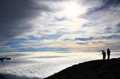 Mahameru, Java, Indonesia. Negeri di atas awan