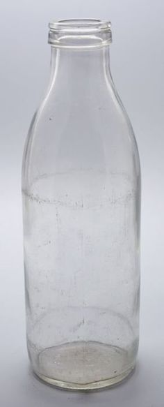Dutch Glass Milk Bottle, one liter, produced from 1968 till 1990 by Verenigde glasfabrieken Schiedam Sweet Memories, Childhood Memories, Year Of The Monkey, Good Old Times, We Are Young, The Old Days, Old Ones, Do You Remember, My Memory