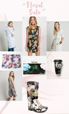 Fashion Finds: My favorite trend ever, floral everything #fashion #floral #sale