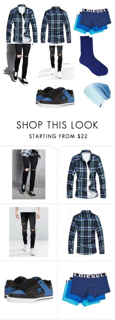 """Random"" by legado-morales ❤ liked on Polyvore featuring 21 Men, Liquor n Poker, DC Shoes, Diesel, Maria La Rosa, Spacecraft, men's fashion and menswear"
