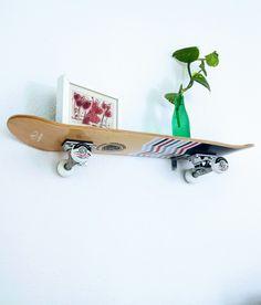 Skateboard-Regal diy | Inspirationsecke