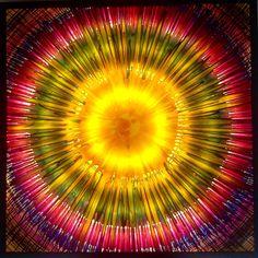 Emin Özdemir. Rotational oscillation method, 100 x100 cm. Plexiglas, glaspaint, ledlight. Fractal Art, Fractals, Eminem, Spin, Abstract, Artwork, Handmade, Summary, Work Of Art