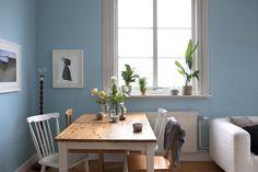 Azul y madera: Las claves para decorar.